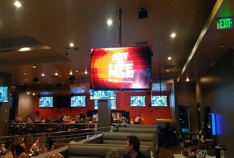 Hooters in San Diego AV Installation