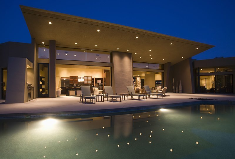 A Picture of a San Diego Home with Lighting Control