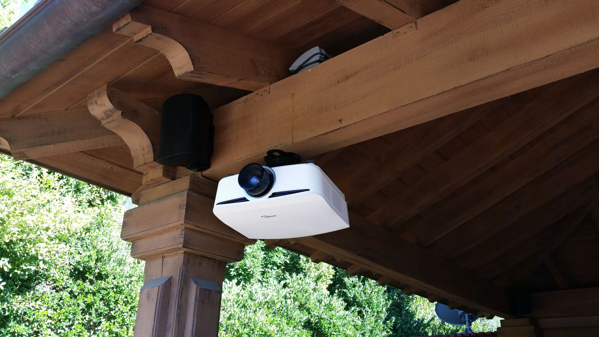 Outdoor Home Theater Projector