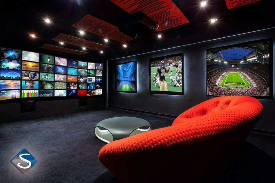 gaming man cave. Man Caves, San Diego Audio Video Gaming Cave