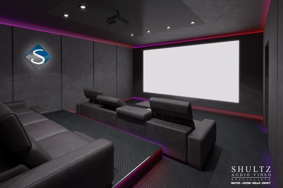 Home Theater System Room Design Home Design And Style