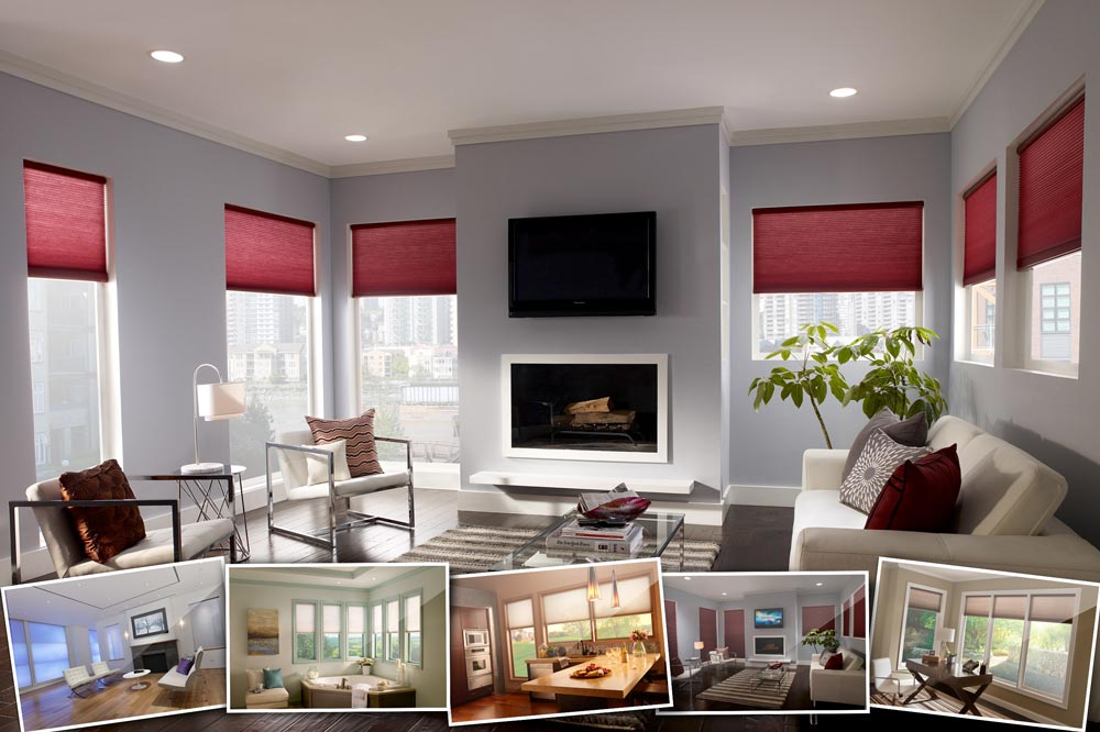 Serena Motorized Shades By Lutron