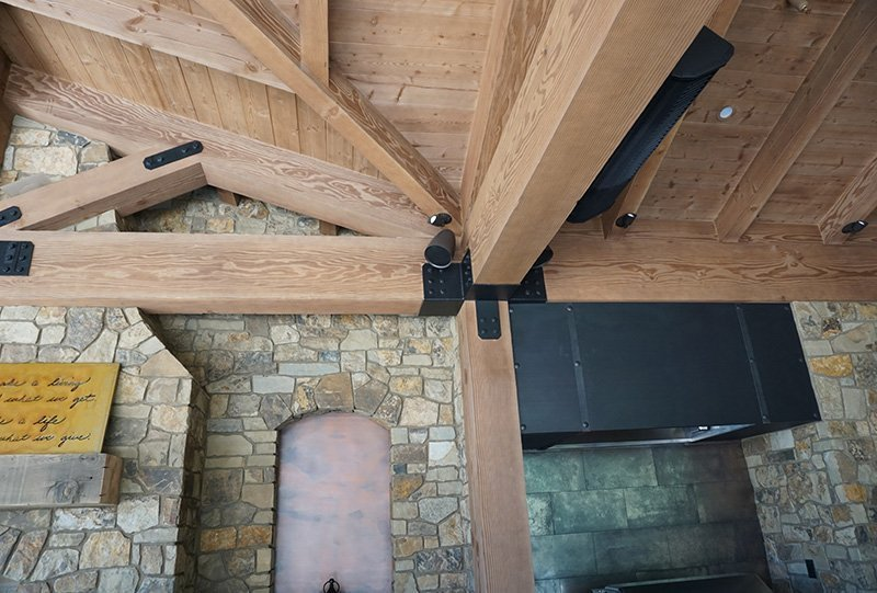 Beams and speaker