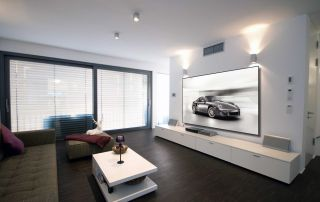 Projection Screen, Home Theater