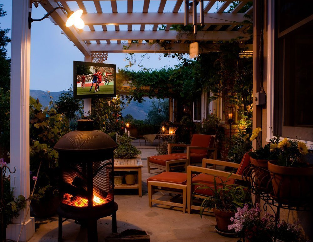 All-Weather Outdoor TV and Outdoor Speakers