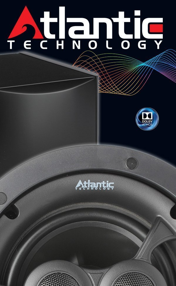 Atlantic Technology Dolby Atmos Enabled Speakers