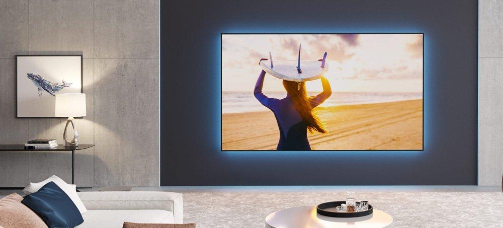 Projector Screens Zero Edge