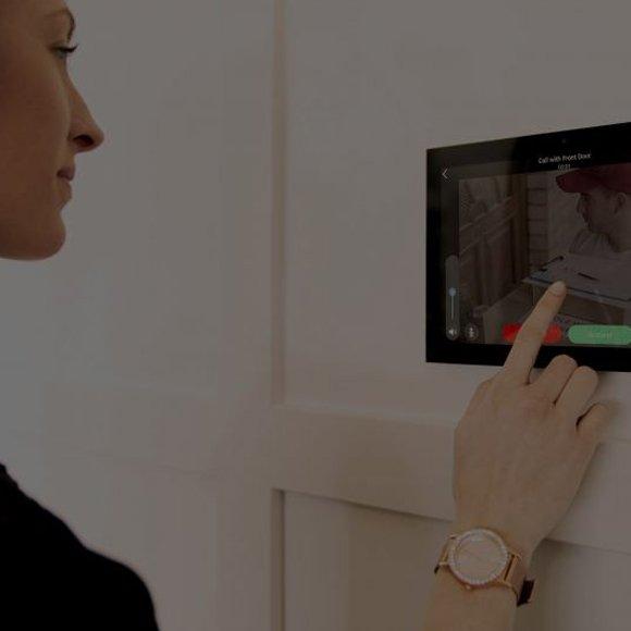 Control 4 Intercom Anywhere Video Doorbell