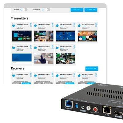 Binary™ 900 Series 4K Ultra HD Media over IP Transmitter