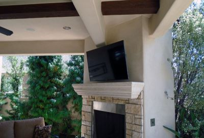 Outdoor TV, Wifi, Network, Control4 Home Automation