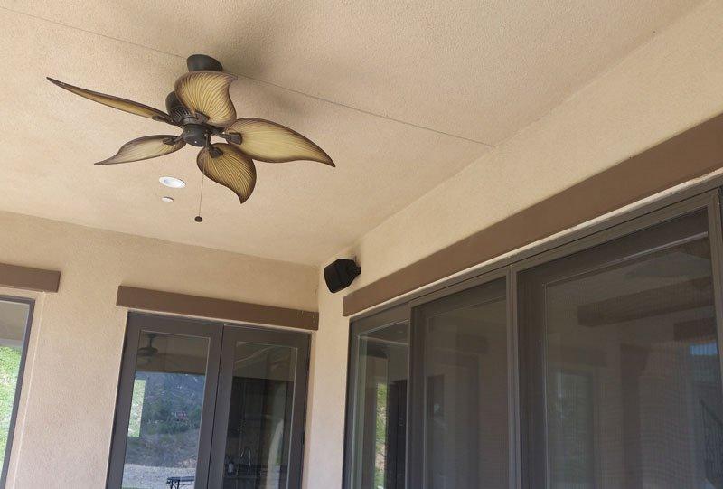 Outdoor Speaker Install
