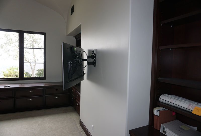 TV Upgrade and TV Wall Mount Project