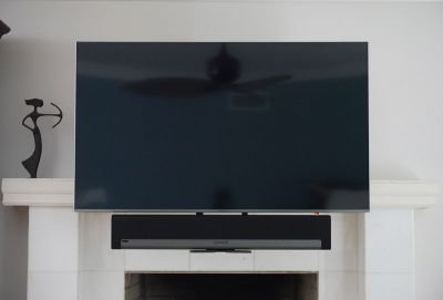 Mantle Mount Plus SONOS Sound Bar Installation