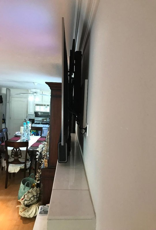 Mantle Mount Plus SONOS Sound Bar Installation