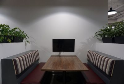 Telium Corporate Office Mounted Flat Panels Installation