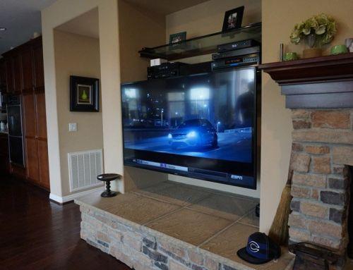 Carlsbad Family Room Entertainment System Installation