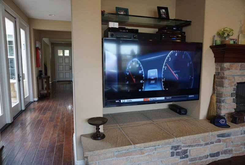 Carlsbad Full Motion TV Mount and SONOS Whole Home Audio Installation