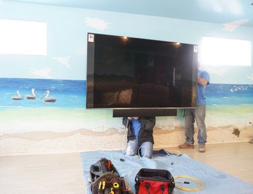 Family Room Home Theater System Installation