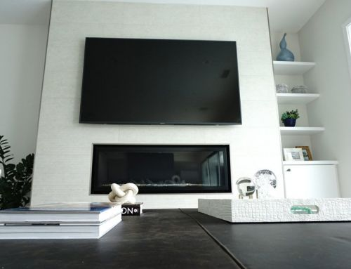 Newport Beach Custom Wall Mounted TV Install