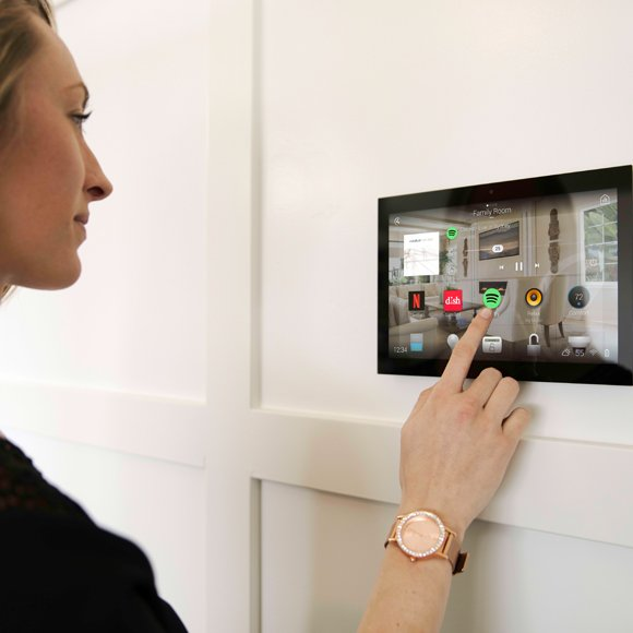 Control Your Home From A Control4 Touch Screen