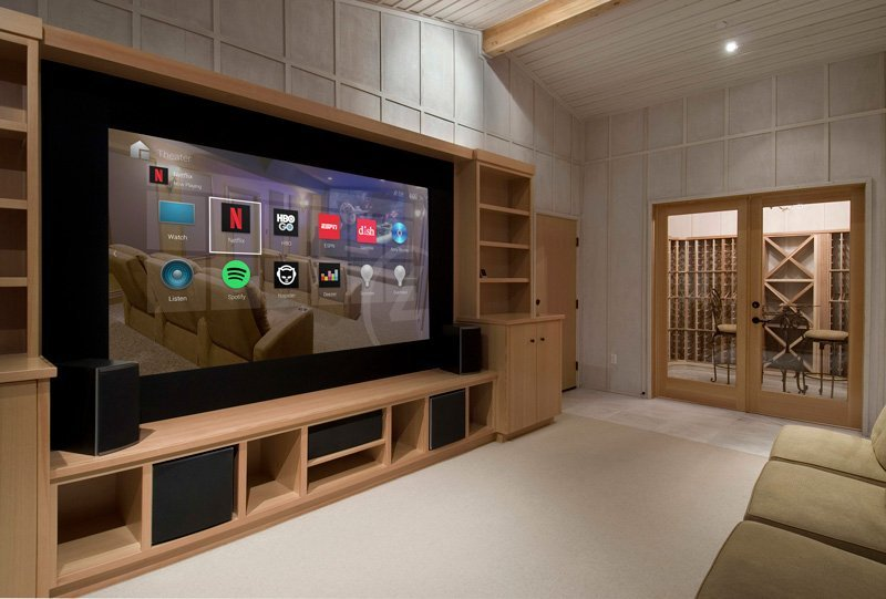 Custom Home Control, Multi Room Audio, and Home Theater Install
