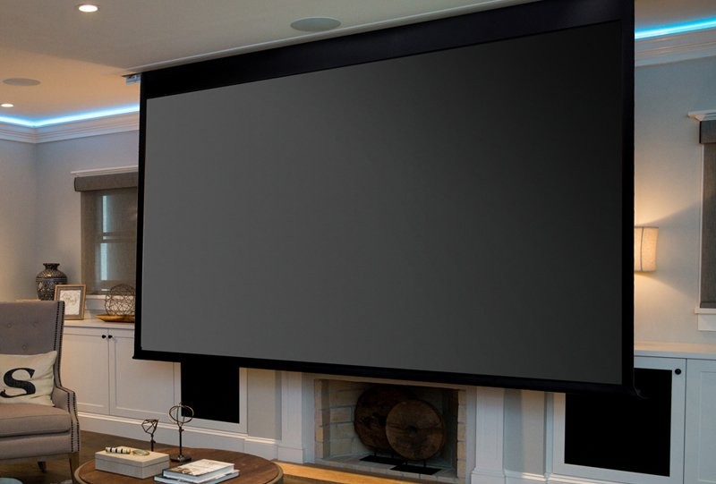 Family Room Home Theater Install