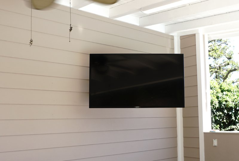 SunBriteTV Mounted On Wall