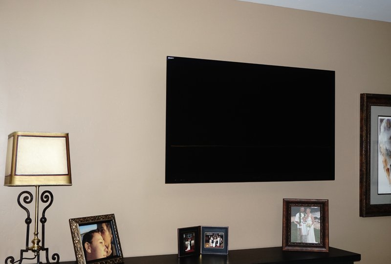 Wall Mounted TV Install