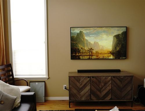 Frame TV Installation