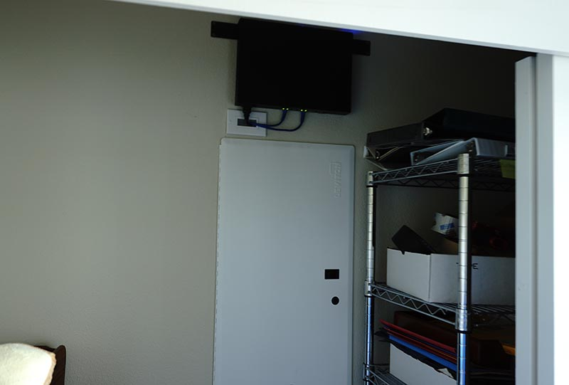 Network Install & Wire Clean Up Project