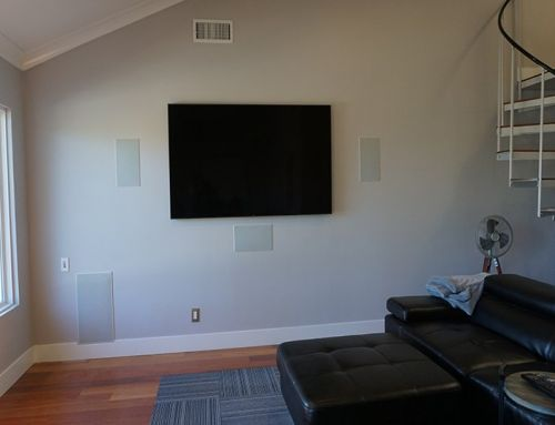 Surround Sound TV Mounting Installation Solana Beach
