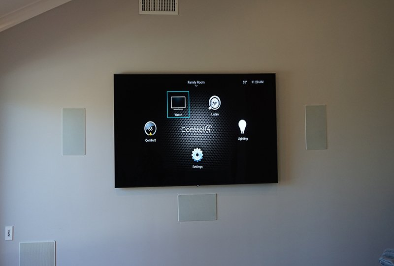 Surround Sound & TV Mounting Project Solana Beach