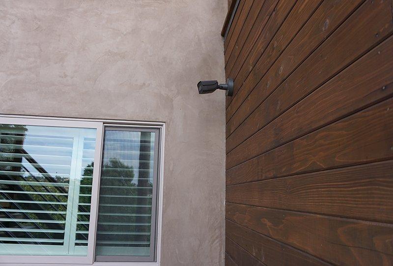 Outdoor Security Camera Retrofit Project Escondido