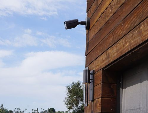 Outdoor Security Camera Retrofit Project Escondido