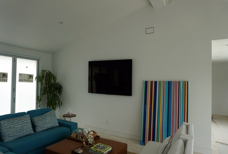 La Jolla Remodel Home Automation and AV System Installation