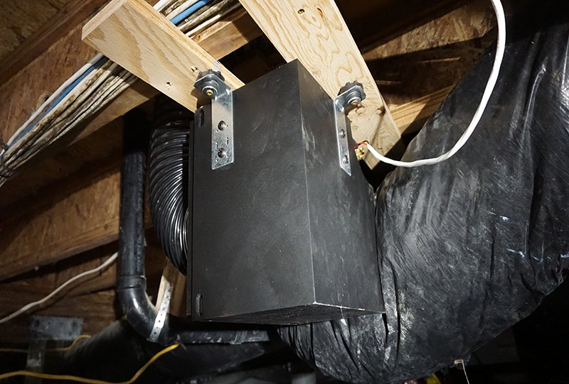 Under House Mounted Subwoofer