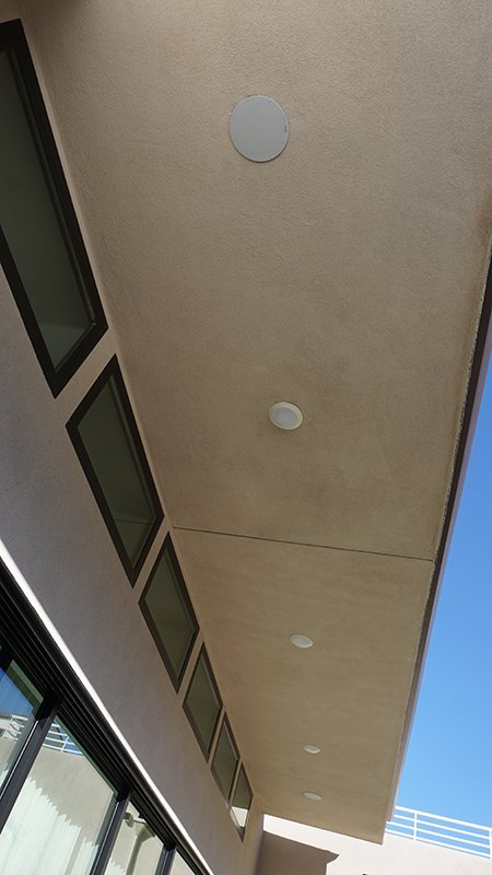 Patio In Ceiling Waterproof Speakers