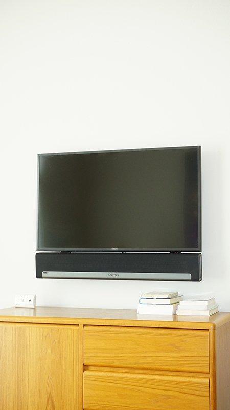 Sonos Playbar with Flat Panel TV Mount